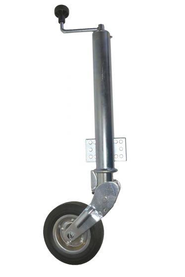 Aanhangwagen neuswiel 200x60 mm automaat 200kg
