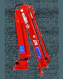 Maxilift M270 LLC laadkraan 2 hydraulische giekdelen met montageframe 2 hydraulische steunpoten