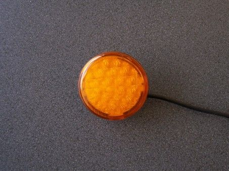 WAARSCHLAMP LED 12V ROND