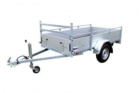 Anssems BSX 750kg 251x130cm aanhangwagen