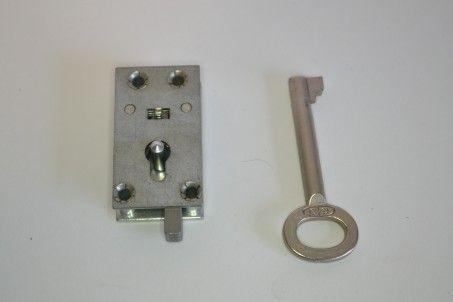 Draaislot met sleutel