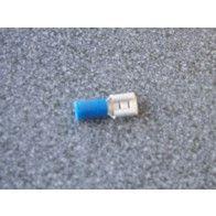 Kabelschoentjes blank blauw 1,5 mm