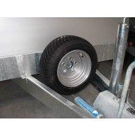 Vlemmix plateauwagen tandemas 600x183cm