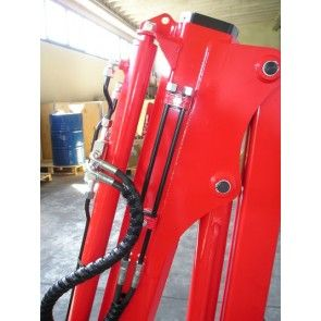 Maxilift M110 laadkraan 2 hydraulische giekdelen