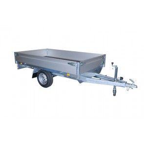 Atec plateauwagen enkelas 312x176cm 1350kg