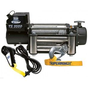Superwinch Tiger Shark 9500SR met synthetische kabel