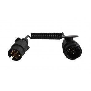 Spiraal kabel 7-polig naar 13-polig
