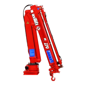 Maxilift M270 LLC laadkraan 2 hydraulische giekdelen zonder montageframe