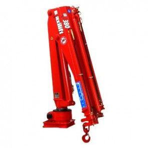Maxilift M380 LME04+SCU laadkraan 3 hydraulische giekdelen zonder montageframe