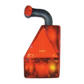 Aspock Earpoint achterlicht met markeringslamp links