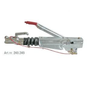 AL-KO Oplooprem 251G staal 1637 2051 V-dissel bovenmontage