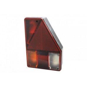 Aspock Earpoint achterlicht met driehoek en achteruitrijlicht rechts