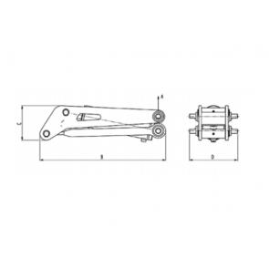 AL-KO Compass hydraulisch kipsysteem