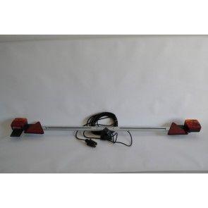 Verlichtingsbalk instelbaar 142 - 212 cm