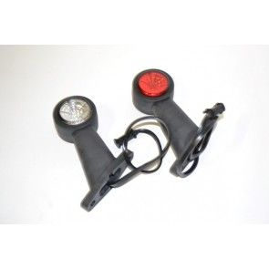 Fristom breedtelicht FT-009C LED met korte houder per stuk