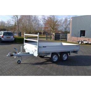 Atec plateauwagen tandemas 312x176cm