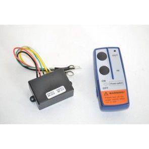 Draadloze afstandsbediening voor 12 volts lier