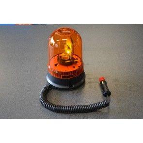 Zwaailamp magneet 12V oranje