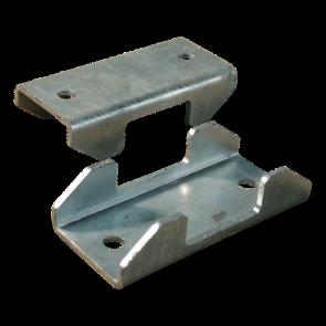 Klemschalenset vierkant 60x60mm