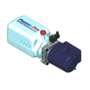 OMFB elektrische hydrauliekpomp met kunststof tank 24V
