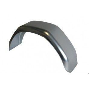 Universeel spatbord metaal enkel hoekig 220x750 mm