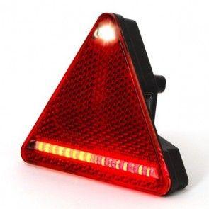 WAS LED achterlicht driehoek Links