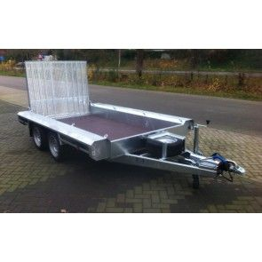 Vlemmix machinetransporter tandemas 400x180cm