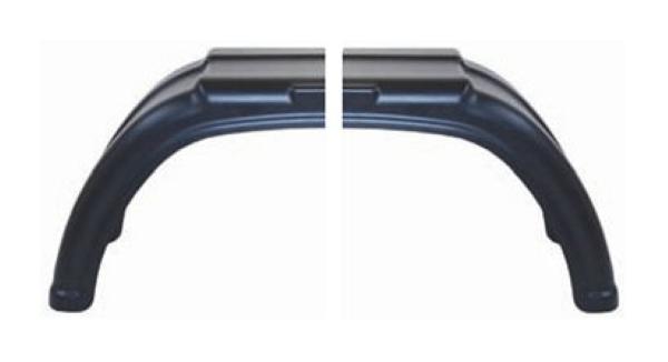 AL-KO spatbord PLUS kunststof in twee delen tandem 223x340 mm