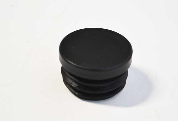 Insteekdop rond 30 mm plat