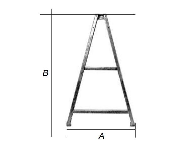AL-KO triangel 3.5 ZA 1458x860mm