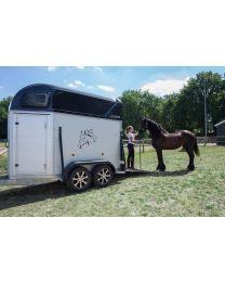 Henra Performance XXL paardentrailer 402x170x235cm 2 paards Aluminium