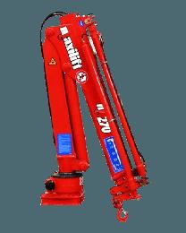 Maxilift M270 LME04+SCU laadkraan 2 hydraulische giekdelen met montageframe 2 hydraulische steunpoten