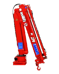 Maxilift M270 D laadkraan 3 hydraulische giekdelen zonder montageframe