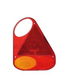 Fristom los lampglas rechts met driehoek