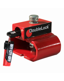 DoubleLock DIN-oog slot Triangle Lock RED SCM gekeurd