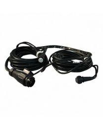 Aspock kabel 13 polig 2x 8 polig 7,7 meter