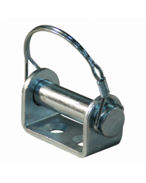 Opschroefbeugel klepscharnier verzinkt Ø16mm