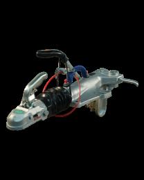 Knott oplooprem KFG35-D met geribbeld neuswiel console