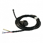 Aspock 8-polige bajonetaansluiting links