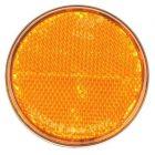 Reflector rond oranje Ø70mm zelfklevend