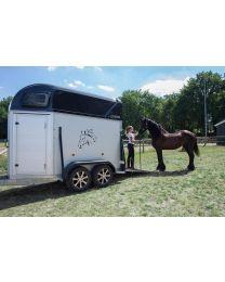 Henra Performance XL paardentrailer 334x170x235cm 2 paards