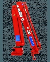 Maxilift M230 LLC laadkraan 2 hydraulische giekdelen met montageframe 2 hydraulische steunpoten