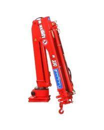 Maxilift M330 LME04 laadkraan 2 hydraulische giekdelen met montageframe 2 hydraulische steunpoten