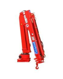 Maxilift M330 LLC laadkraan 3 hydraulische giekdelen met montageframe 2 hydraulische steunpoten