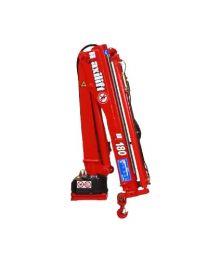 Maxilift M180 LLC laadkraan 2 hydraulische giekdelen met montageframe 1 hydraulische steunpoot