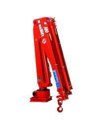 Maxilift M380 LME04+SCU laadkraan 3 hydraulische giekdelen met montageframe 2 hydraulische steunpoten