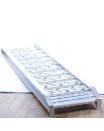 Set oprijplaten universeel aluminium