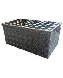 Aluminium traanplaat kisten