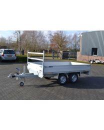 Atec plateauwagen tandemas 355x206cm