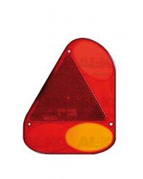 Fristom los lampglas links met driehoek